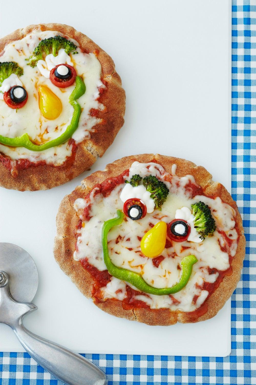 Veggie Pizza Faces