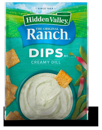 Hidden Valley® Creamy Dill Dips Mix