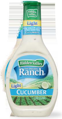 Hidden Valley® Cucumber Ranch Light