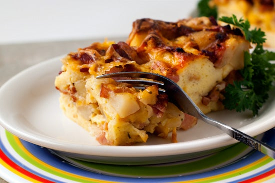 Meet Your New Casserole: A Breakfast Strata
