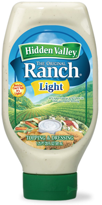 The Original Ranch<sup>&reg;</sup> Light Easy Squeeze Bottle
