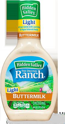 Hidden Valley<sup>&reg;</sup> Buttermilk Ranch Light