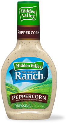 Hidden Valley<sup>&reg;</sup> Cracked Peppercorn Ranch