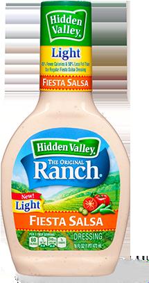 Hidden Valley<sup>&reg;</sup> Fiesta Salsa Ranch Light