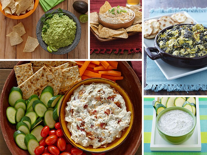 5 Dips to Have the Whole Party Dunking