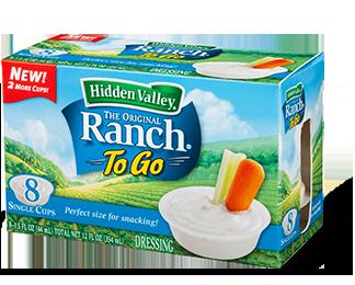 Hidden Valley<sup>&reg;</sup> Ranch To Go