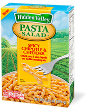 Hidden Valley<sup>&reg;</sup> Spicy Chipotle &amp; Cheddar Pasta Salad