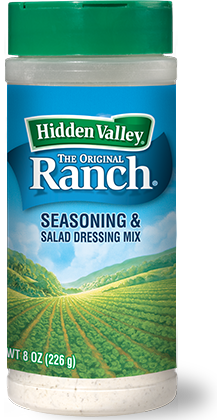 Hidden Valley® Original Ranch® Seasoning & Salad Dressing Mix Shaker