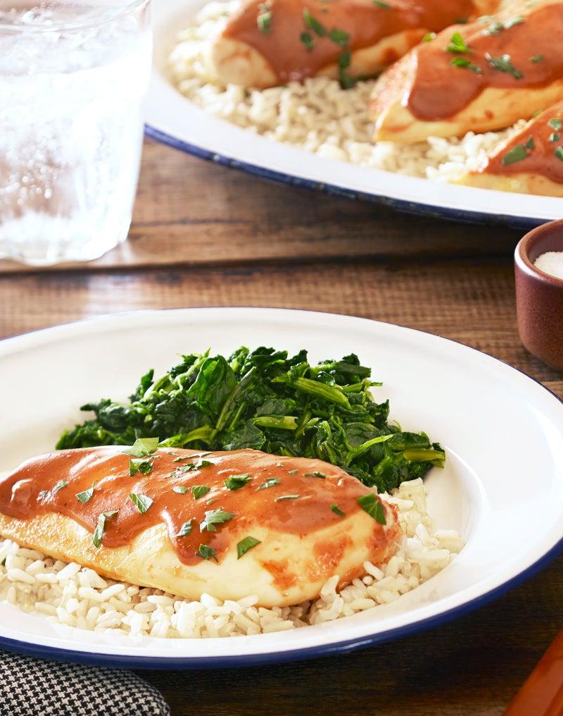 Ranch Bbq Chicken Dinner Recipe Hidden Valley 174 Ranch