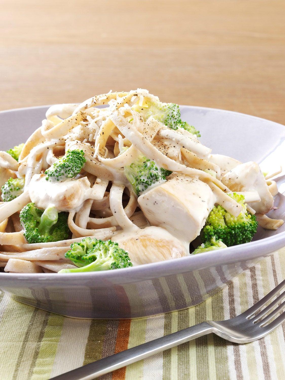 Creamy Chicken And Broccoli Alfredo Recipe Hidden Valley