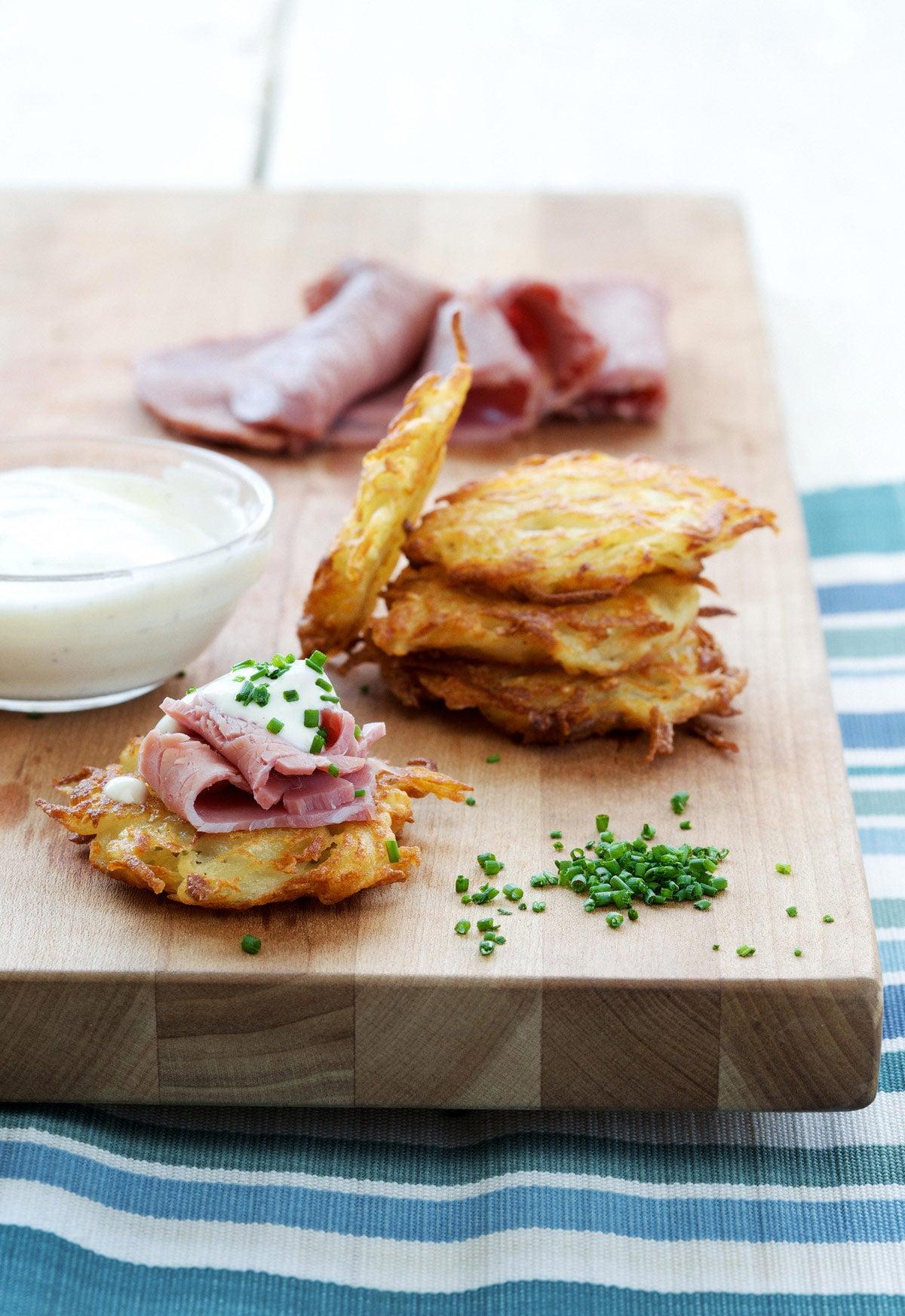 Simple Potato Pancakes
