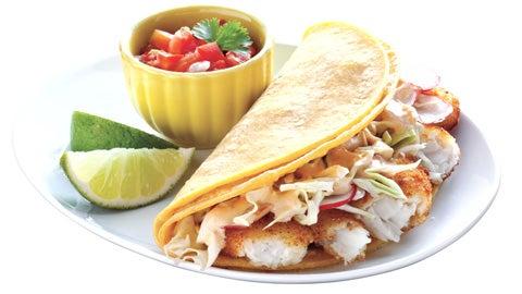 Southwest Chipotle Fish Tacos