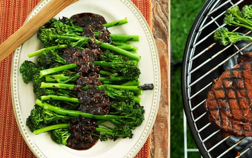 Grilled Broccolini with Tamarind Onion Marmalade | Hidden Valley®