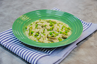 Put a Twist on Tonight: Spring Ranch Risotto