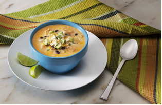 Easy Recipes to Warm the Soul: Spicy Creamy Chicken Tortilla Soup