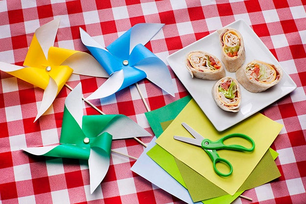 Picnic with Pinwheels