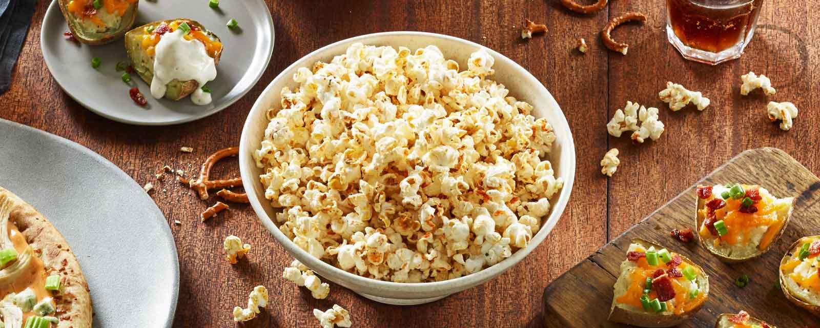 Buffalo Ranch Popcorn Recipe Hidden Valley 174 Ranch