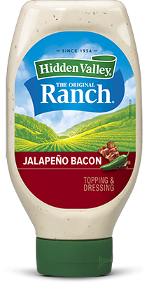 Jalapeño Bacon Ranch Easy Squeeze Bottle