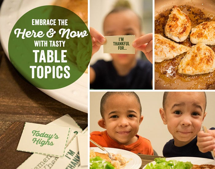 Savoring Mealtime with Tasty Table Topics