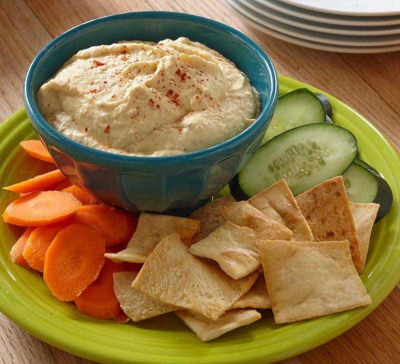 Roasted Garlic Hummus   Hidden Valley®
