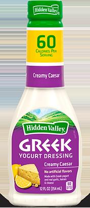 Hidden Valley<sup>®</sup> Greek Yogurt Creamy Caesar