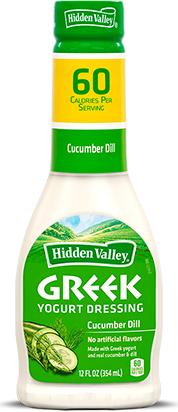 Hidden Valley<sup>®</sup> Greek Yogurt Cucumber Dill