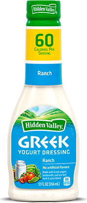 Hidden Valley<sup>®</sup> Greek Yogurt Ranch