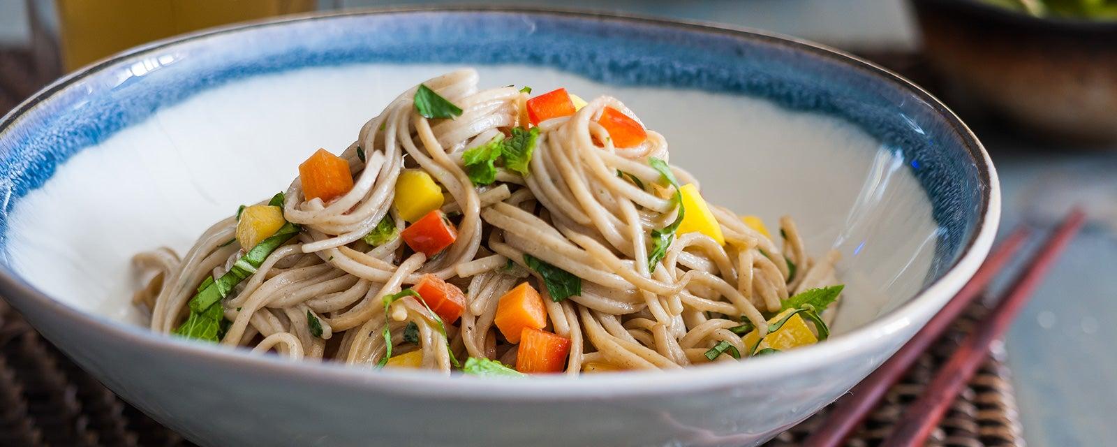 Confetti Soba Noodle Salad Recipe Hidden Valley 174 Ranch