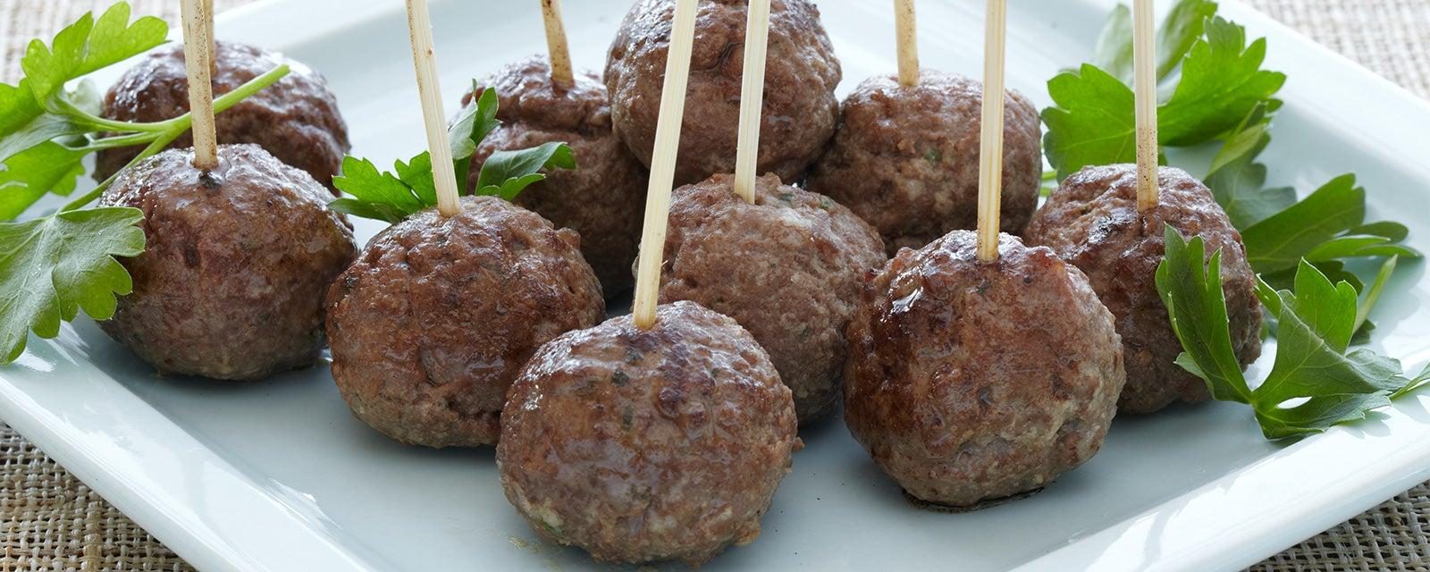 Ranch Meatballs Keto Friendly Hidden Valley 174 Ranch