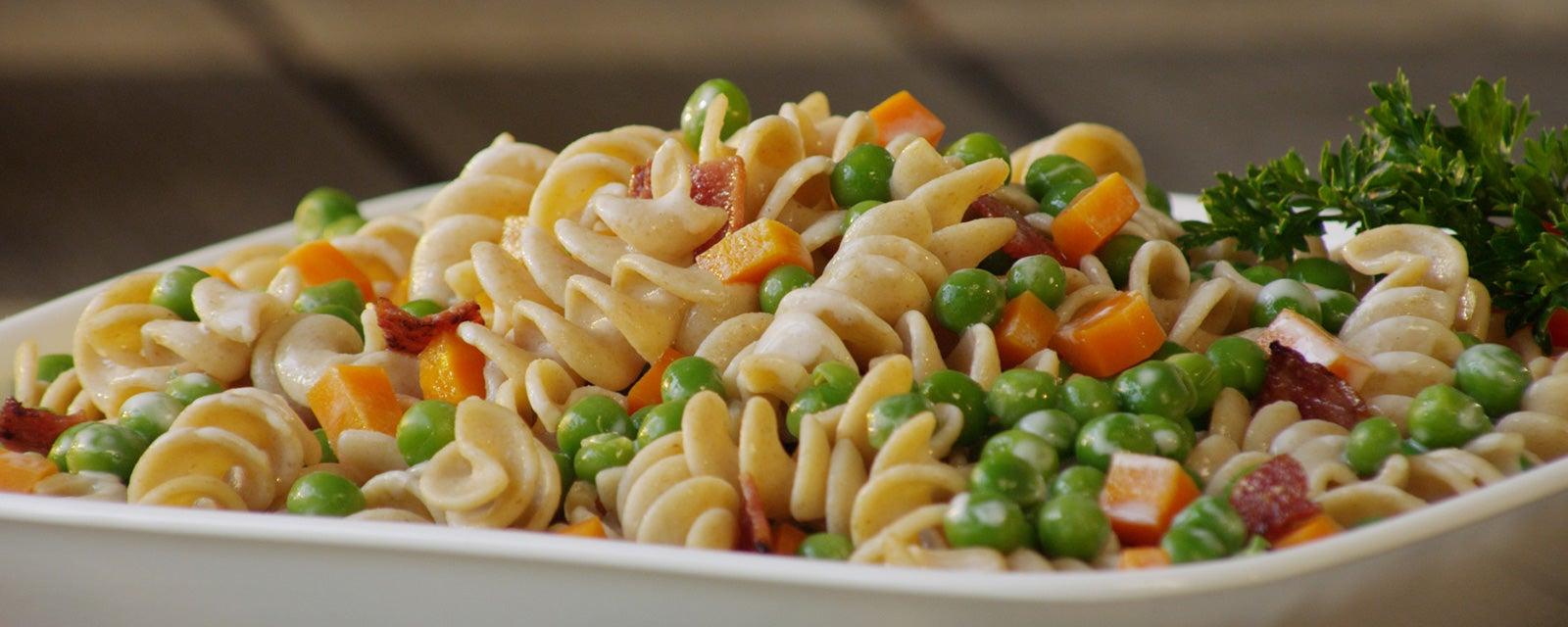 Peas and Pasta Salad Recipe | Hidden Valley® Ranch
