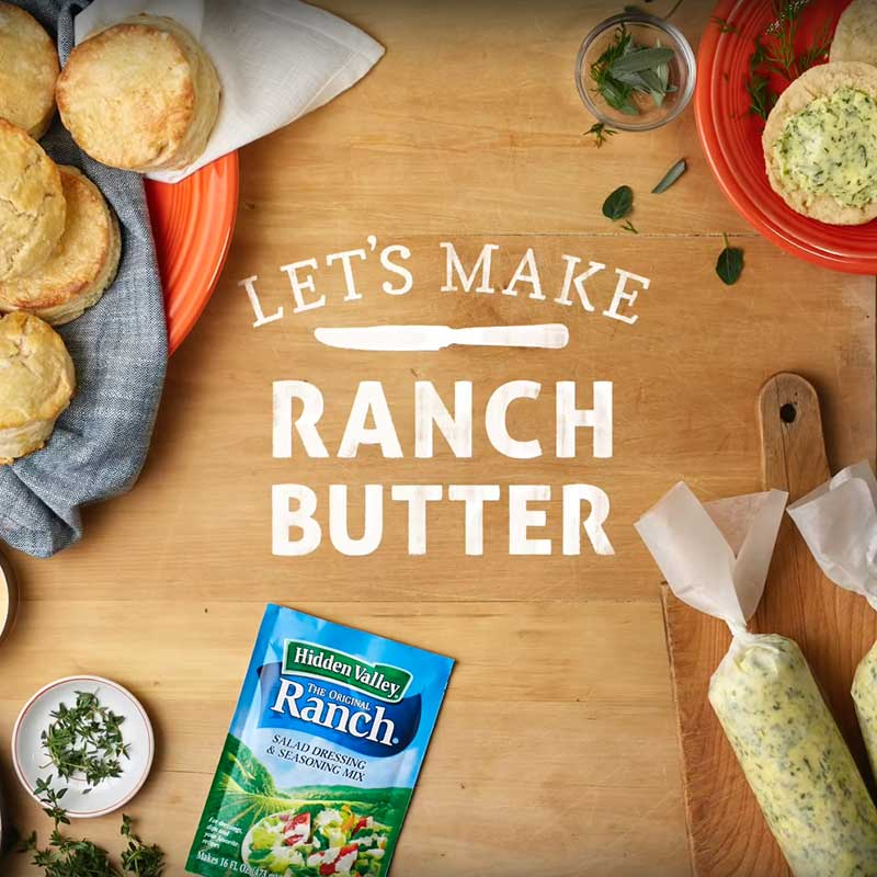Unbelievably Easy & Delicious Herbed Ranch Butter