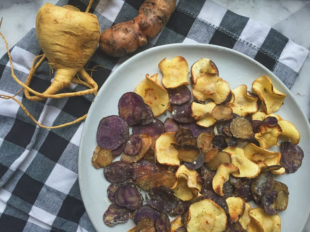 Crunchy Ranch Potato And Parsnip Chips Hidden Valley 174 Ranch