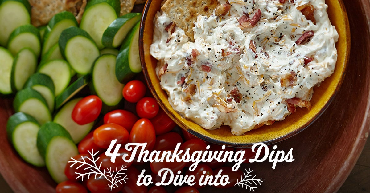 4 Thanksgiving Dips to Dive Into
