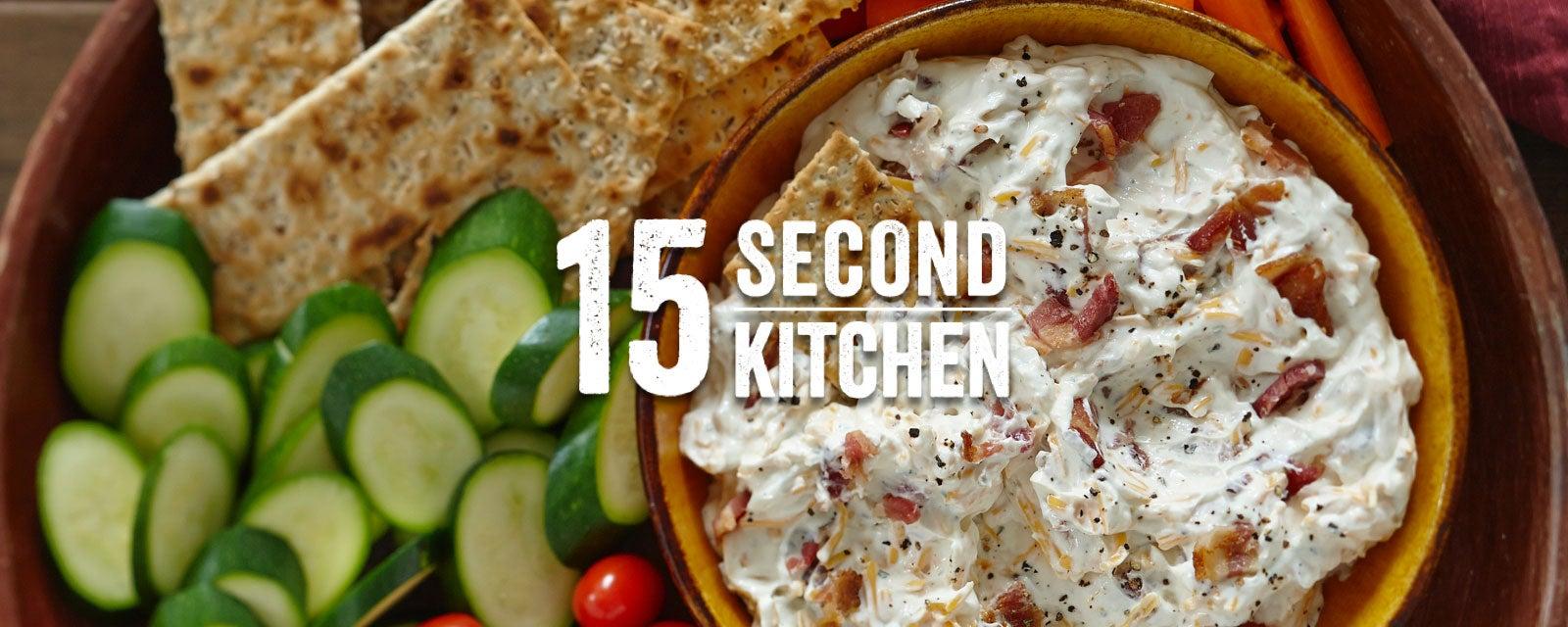 Hidden Valley Bacon & Cheddar Dip Recipe Video | Hidden ...