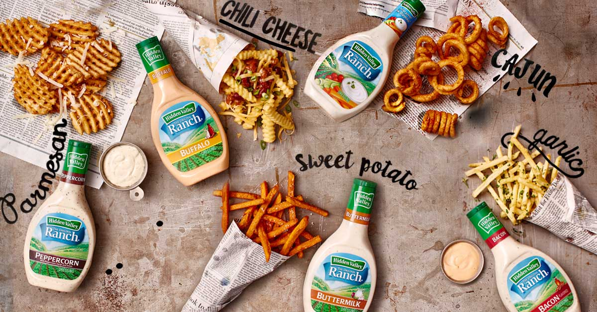 8 Ways to Ranch Out Your Fries