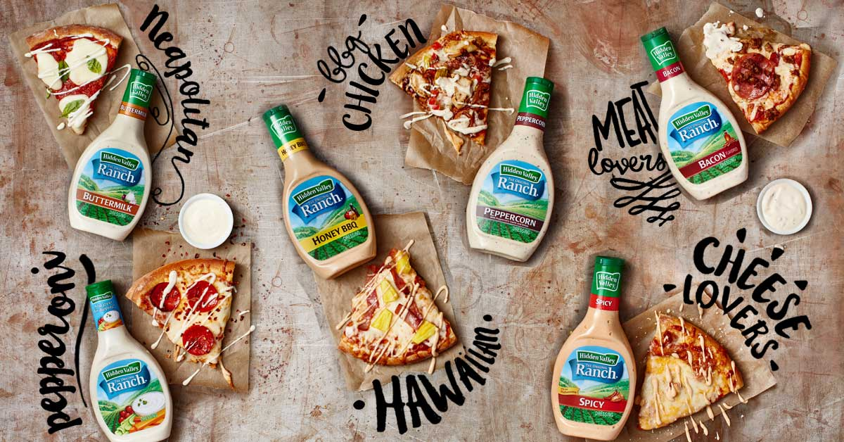 10 Ways To Ranch Out Your Pizza Hidden Valley 174 Ranch