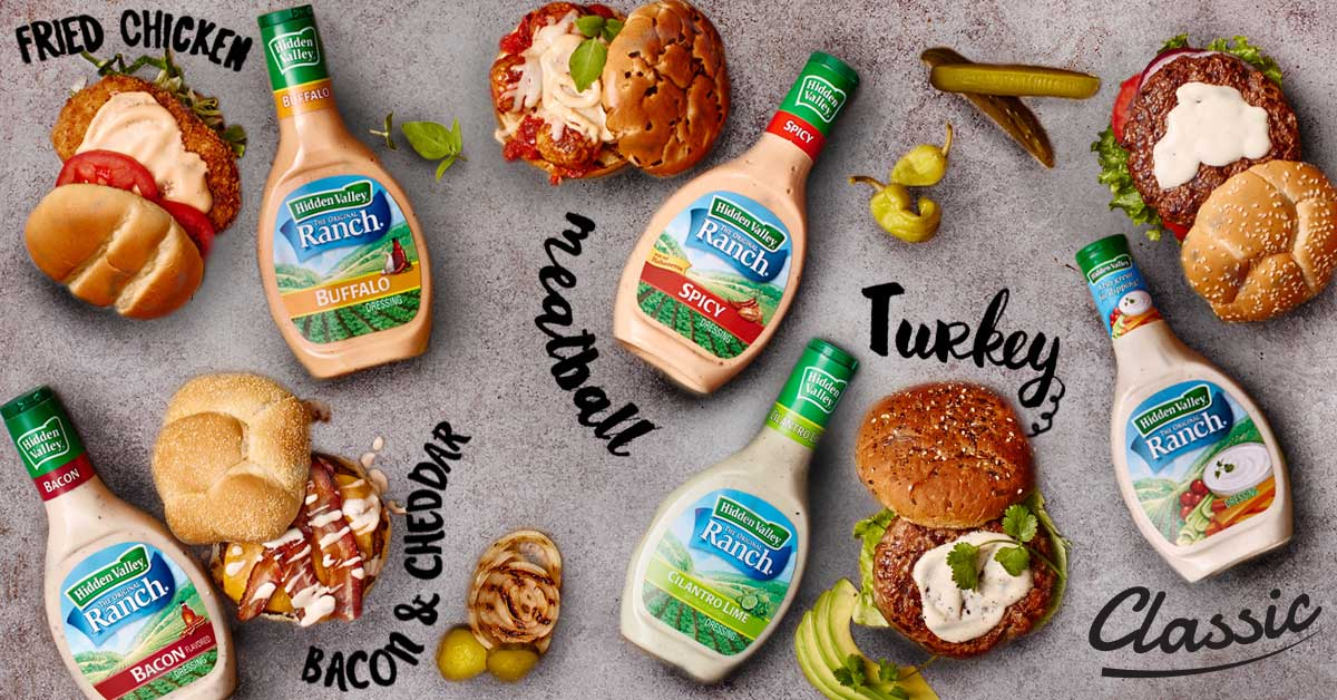 7 Ways to Ranch Out Burgers