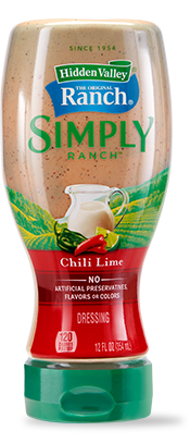 Hidden Valley<sup>®</sup> Simply Ranch Chili Lime