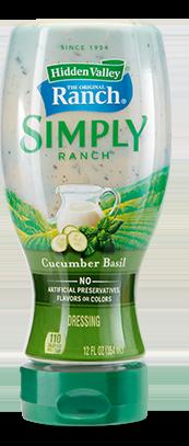 Hidden Valley® Simply Ranch Cucumber Basil