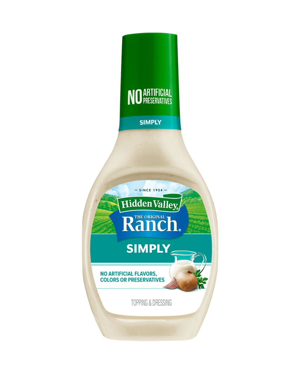 Hidden Valley® Simply Ranch Topping & Dressing