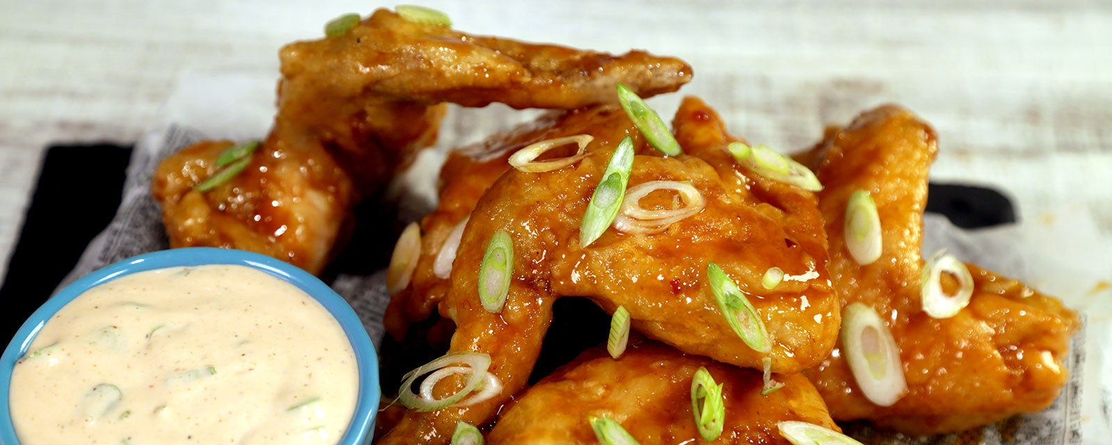Crispy Ginger Thai Wings