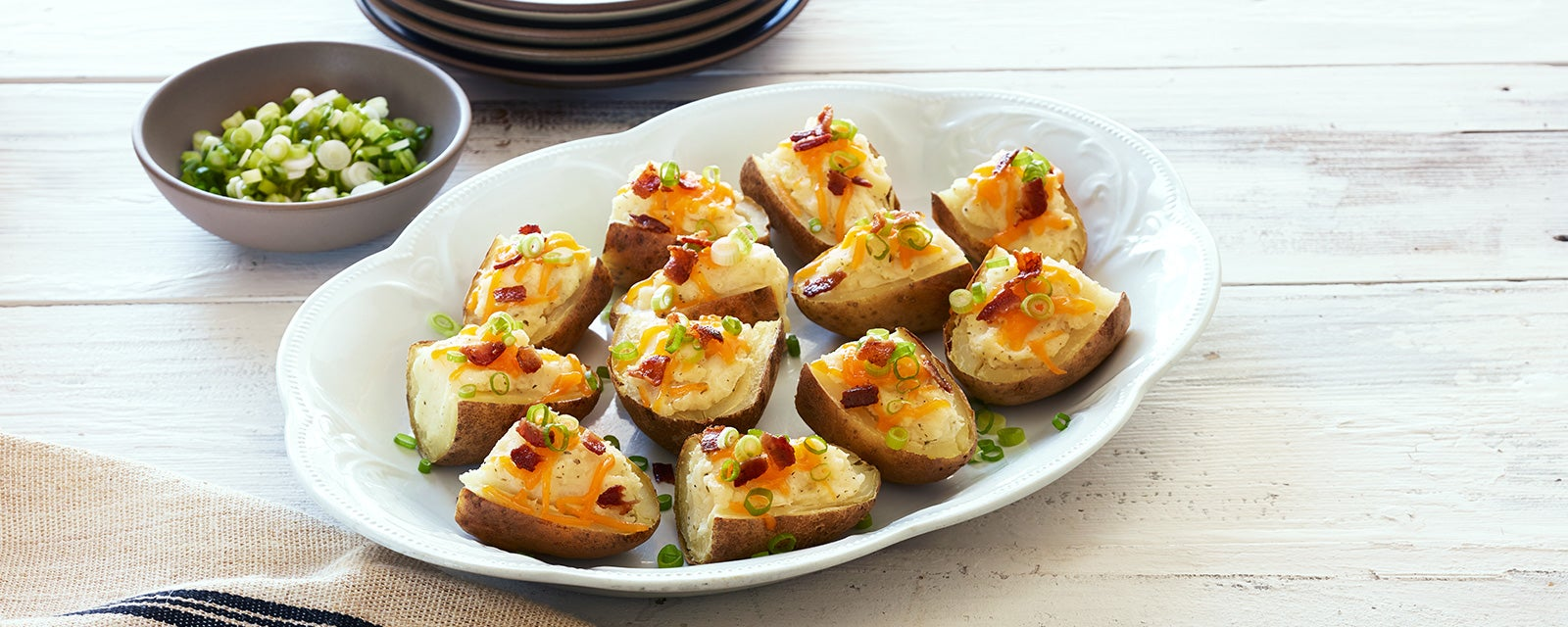 Ranch Potato Skins