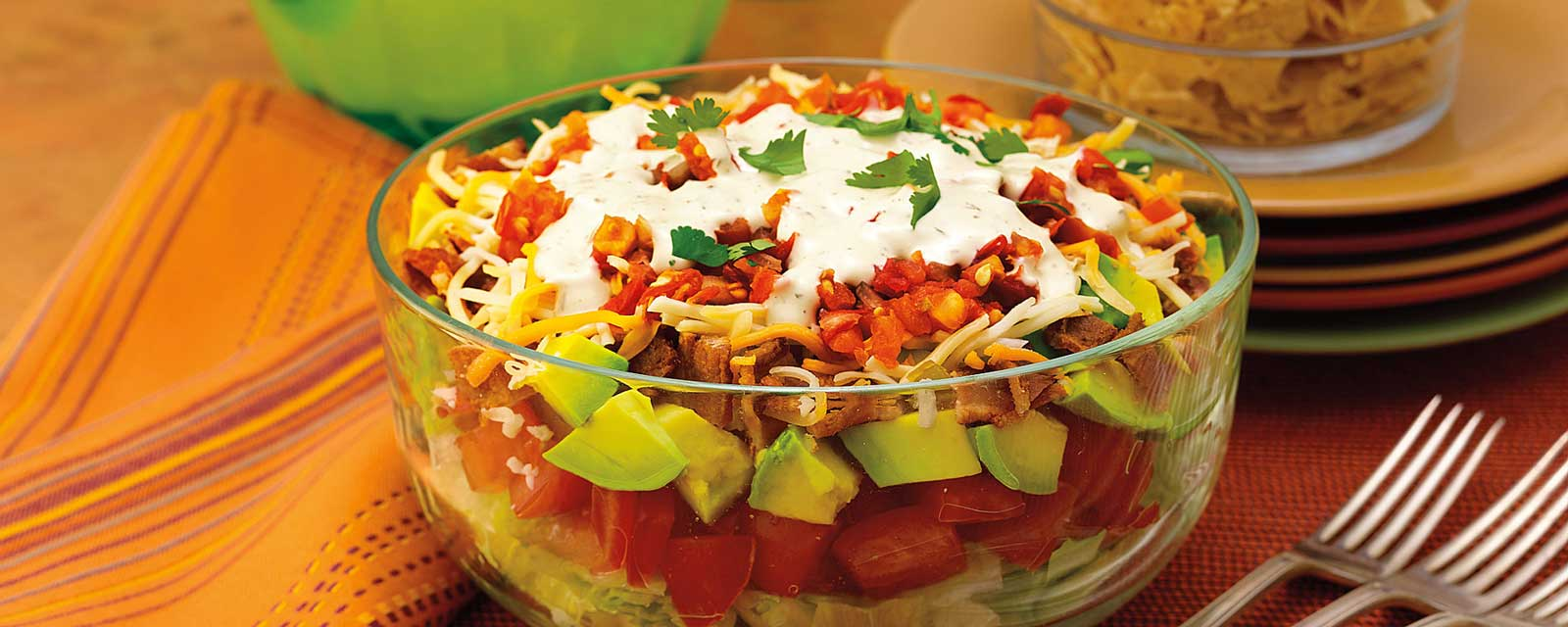 Ranch Fiesta BLT Salad