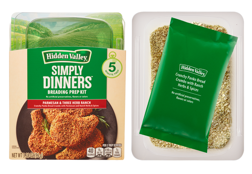 Simply Dinners™ Breading Prep Kit Parmesan & Three Herb Ranch