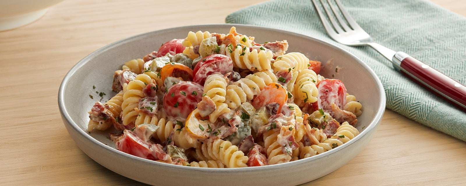 Dill Pickle Ranch Pasta Salad