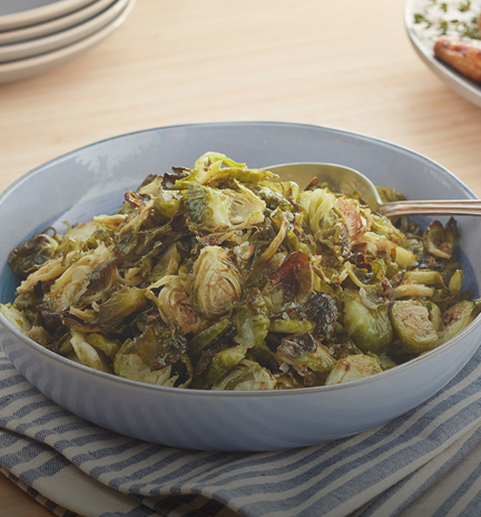 Crispy Ranch Brussels Sprouts