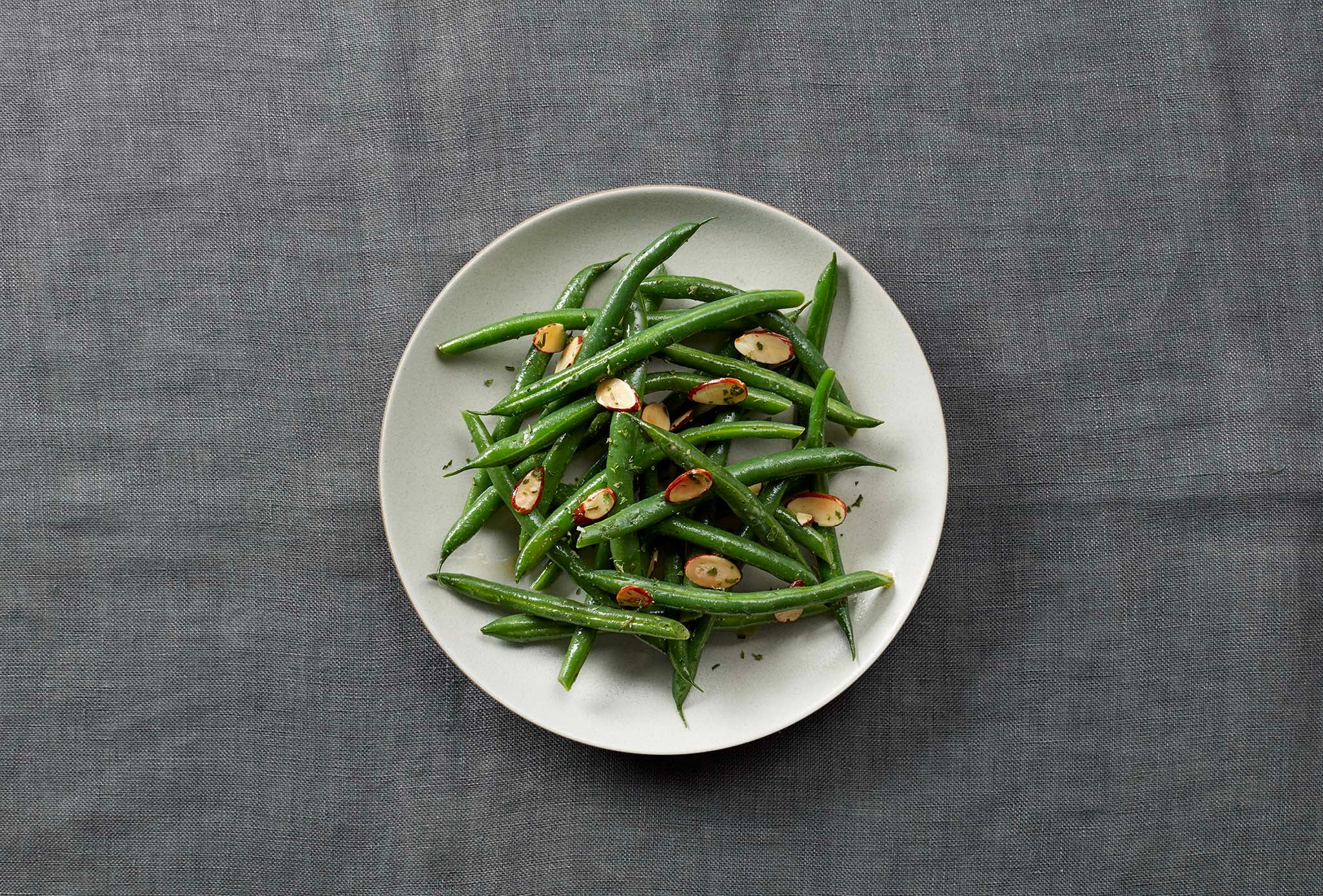 Warm Ranch Green Bean Salad