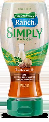 Hidden Valley® Simply Ranch Buttermilk