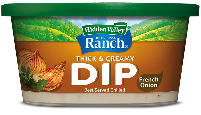 Hidden Valley® French Onion Thick & Creamy Dip