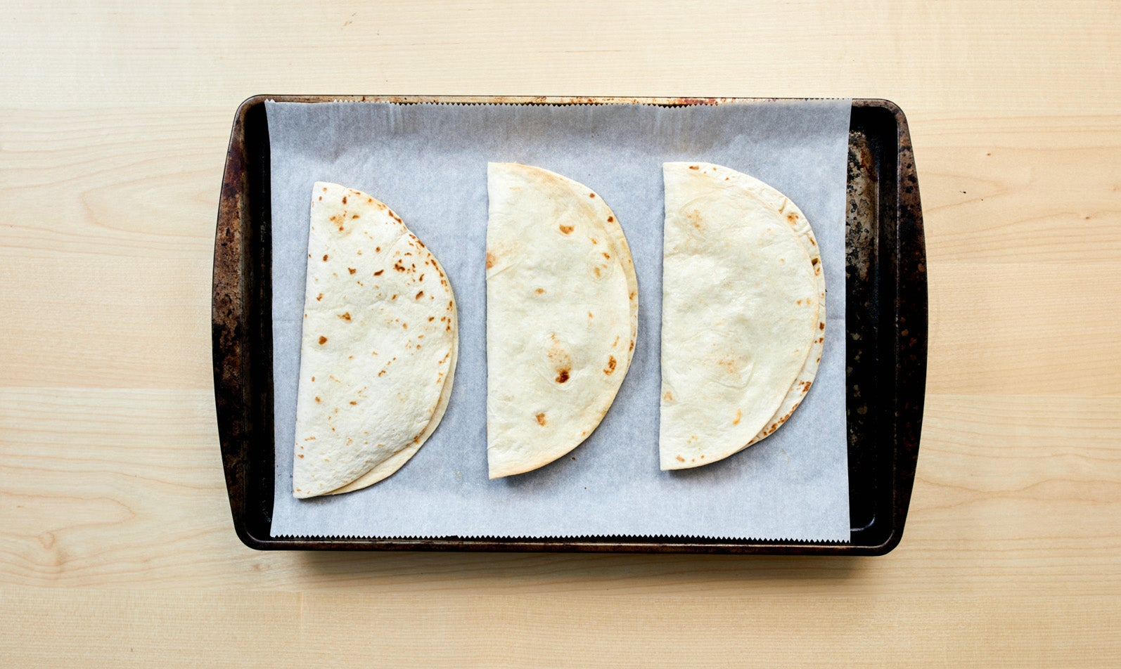 Ranch Baked Quesadillas & Science Experiments